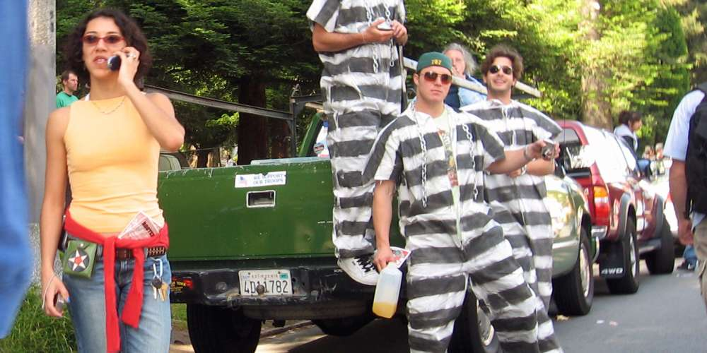 Condoms for Canadian Inmates; NH gets their gay on