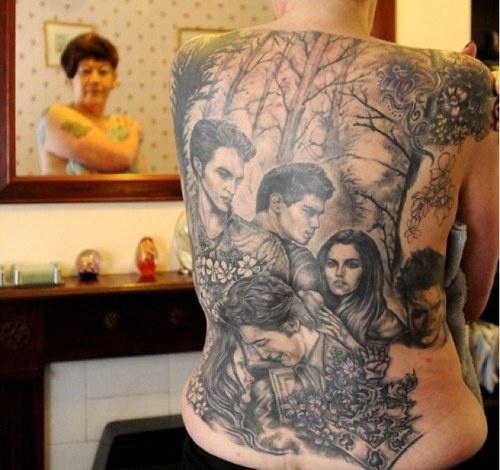 Awful Tattoo of the Day: Twihard Edition