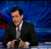 Stephen Colbert, the r word, retarded, gay, gay blog
