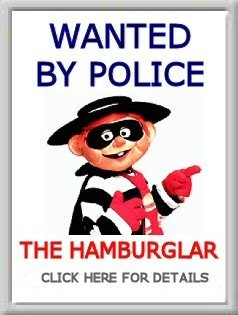 Hamburgler Wanted, gay mcdonalds