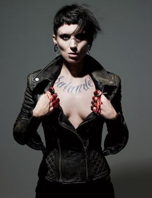 Rooney Mara Is The Girl With The Dragon Tattoo