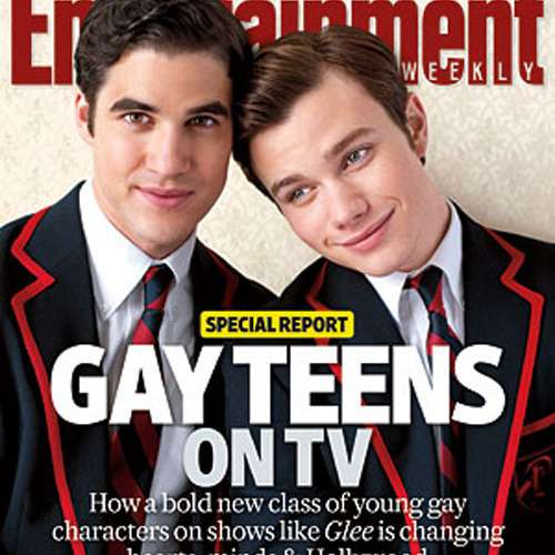 Entertainment Weekly Goes Gay With Glee