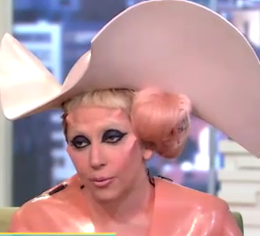 Lady Gaga on Good Morning America