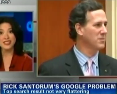 CNN On The Frothy, Unmentionable Santorum Problem