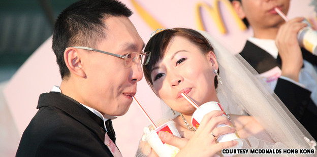 Hong Kong McDonald's Hosting Weddings