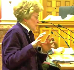 Anal Expert Grandma Warns Civil Union Lawmakers: Exit Only!