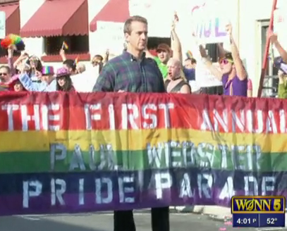 Town Throws Pride Parade For Its Only Gay Resident?