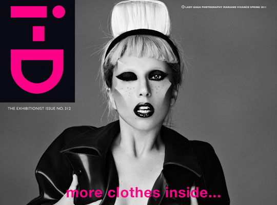 Lady Gaga Makes Us Feel Uncomfortable On iD Magazine