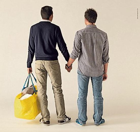Ikea Goes Gay