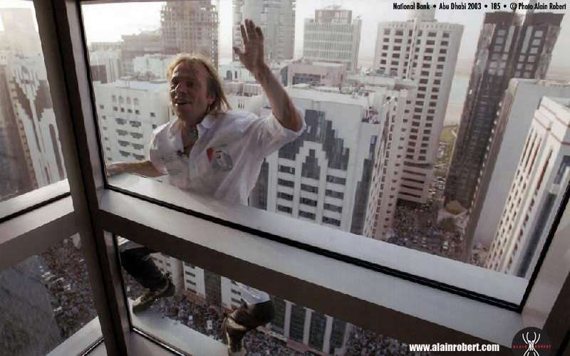 Incredible: French Spider Man Climbs World's Tallest Building