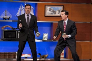 Gay blog: Colbert performs Rebecca Black!