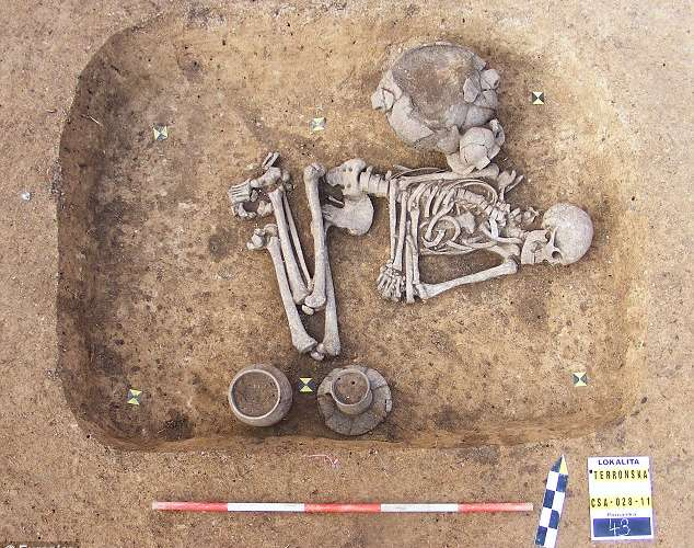 Gay Caveman Outed By Burial