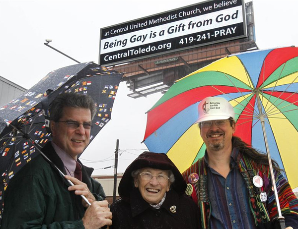 gay blog, gay news, toledo, ohio, central united methodist church