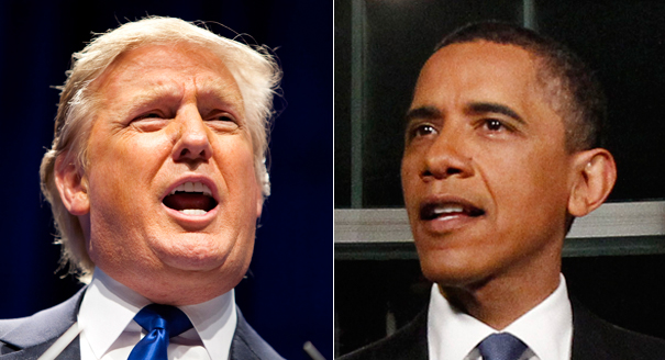 Donald Trump claims to have made Obama do what no one else could do.
