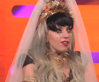 Gaga Says 'I Do' on BBC's Graham Norton Show