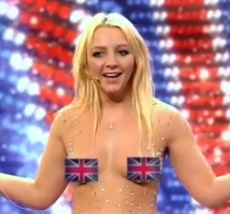 Britain's Got Talent(ed Topless Britney Impersonators) [NSFW]