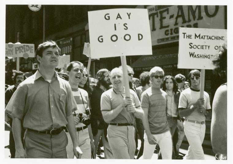 Gay blog: Gay is Good was Frank Kameny's original slogan
