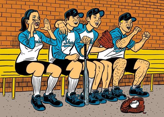 gay news, gay softball, gay sports, judghe coughenour