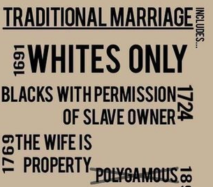 A Brief History of the Terrible Injustices of Traditional Marriage