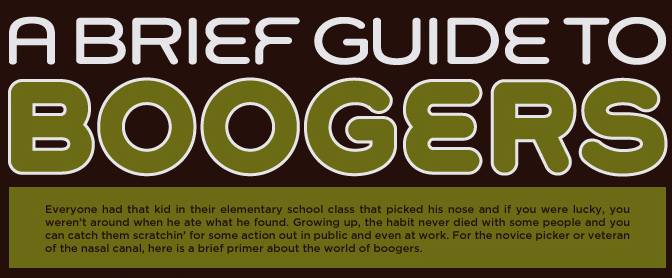 A Brief Guide To Boogers (Infographic)
