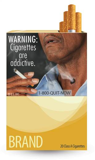 cigarette label hole in throat, hole in throat smoking, cigarettes warning label hole in neck