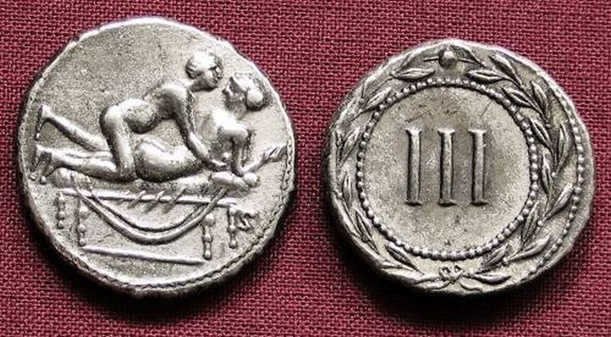spintria, roman sex coins, roman prostitution coins