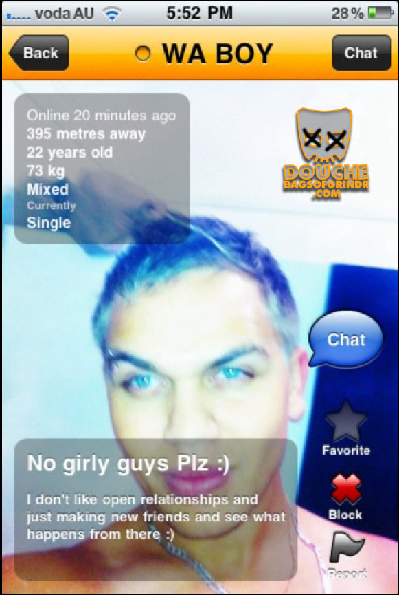 Douchebags of Grindr – We're obsessed!