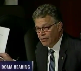 Al Franken Catches Focus of the Family Leader in Lie To Senate