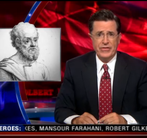 stephen colbert gay history, colbert report gay history, the history of gay, homosexual history stephen colbert