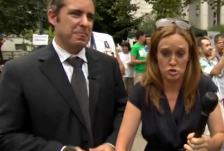 Married Daily Show Correspondents Do NYC Gay Marriage Day