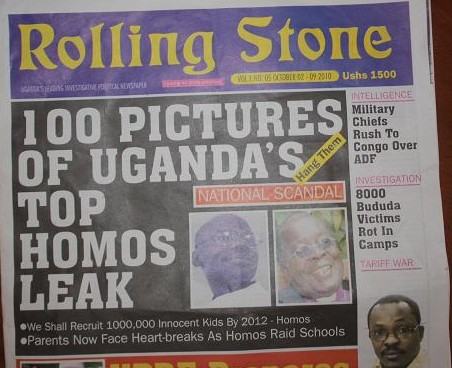 uganda kill the gays bill, rolling stone kill the gays, rolling stone hang them, rolling stone uganda