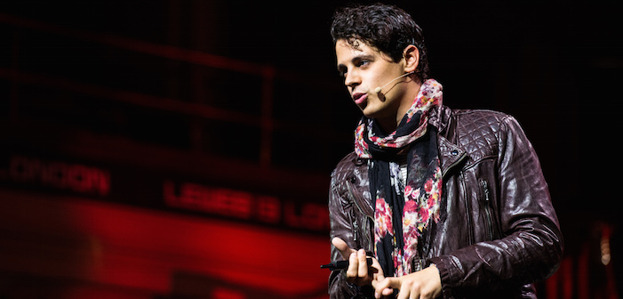 Right-Wing Reporter Milo Yiannopoulos Tied to Terrorist Troll
