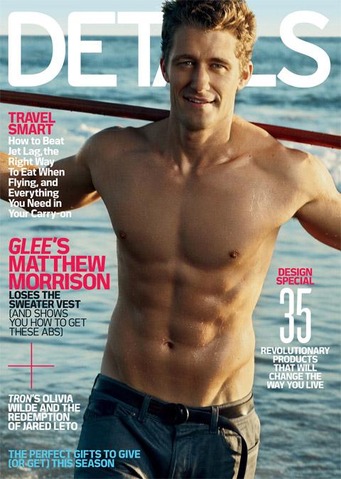 Matthew Morrison abs cover, Matthew Morrison naked magazine, Matthew Morrison Details