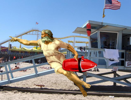 where is he now, where is god, we found god, god baywatch