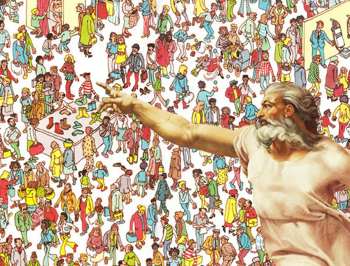 where is he now, we found god, where is god, god where's waldo