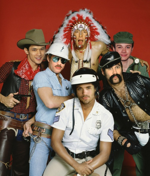 village people glee