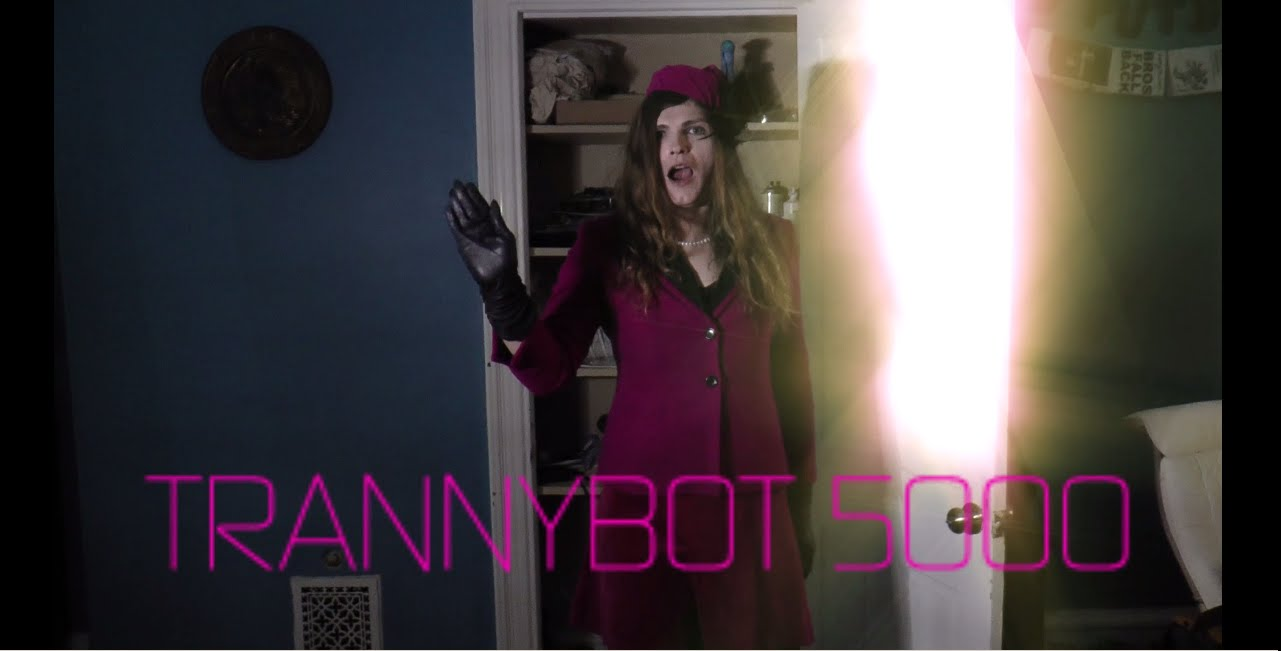 Tired Of Hollywood's Treatment of Trans Characters? Meet TrannyBot 5000!