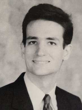 Ted Cruz, high school photo, yearbook picture