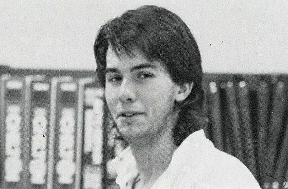 Scott Walker, high school picture, yearbook photo, teen, teenager
