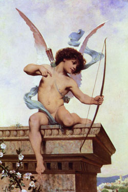 cupid, cherub, valentine's angel, love angel, eros, greek mythology, cupid, cupid's arrow, love angel