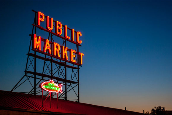 pike place market, seattle, sightseeing, tourism, travel