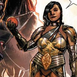 Sera as drawn by Phil Jimenez (via Fantastic Fangirls), sera, marvel, transgender comic book character, black comic book character