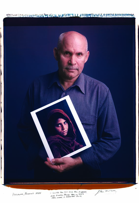 Steve McCurry, Afghan Girl, National Geographic, Photography