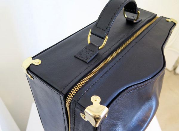 Wei Li, body shaped luggage, encased