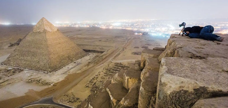 Vitaliy Raskalov Climbed The Egyptian Pyramids (And All We Got Were These Great Photos)