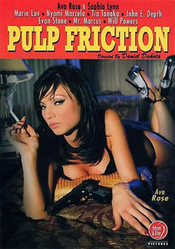 porn parody, pulp friction