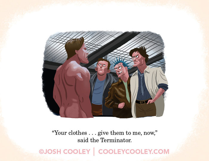 Josh Cooley, Movies R Fun!: A Collection of Cinematic Classics for the Pre-(Film) School Cinephile (Lil' Inappropriate Books). children's book, rated-r movies, film