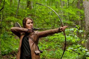 hunger games, katniss everdeen, mockingjay, bow and arrow, archer