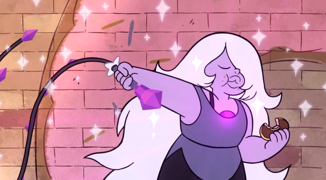 Amethyst, Steven Universe, Michaela Dietz, Cartoon Network,