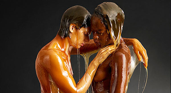 Everyone Looks Better Naked and Covered In Honey (NSFW)